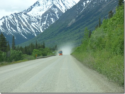 Construction Zone, Klondike Highway, BC