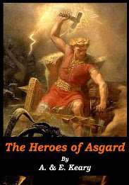 Cover of Annie Keary's Book The Heroes of Asgard