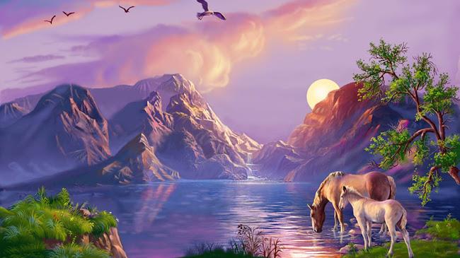 Hãy nhìn nét đẹp nơi bức tranh cuộc sống!
