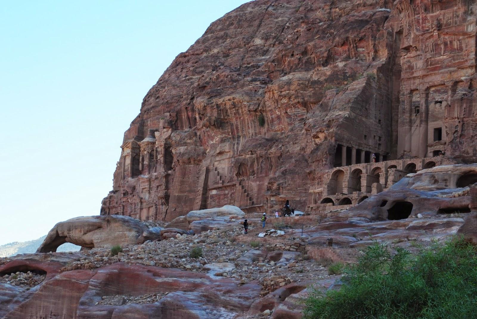 My Photos: Jordan -- Petra -- The Urn Tomb & Royal Tombs