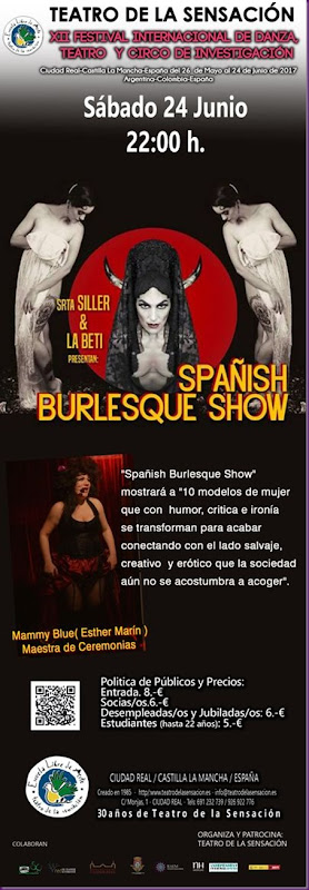CARTEL BURLESQUE-BETY-KARMELA -ESTHER