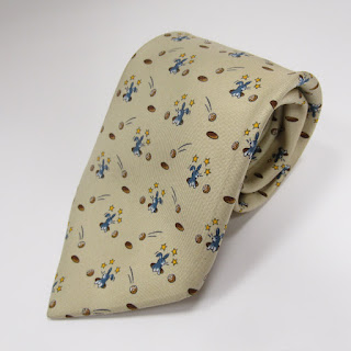 Hermès Bunny Tie