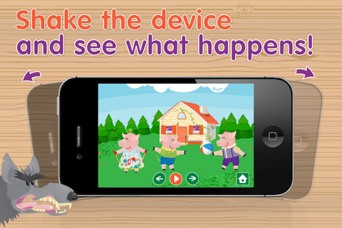 3 Little Piggies Shake the Device