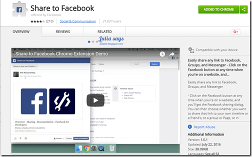 chromeextensionforfb03