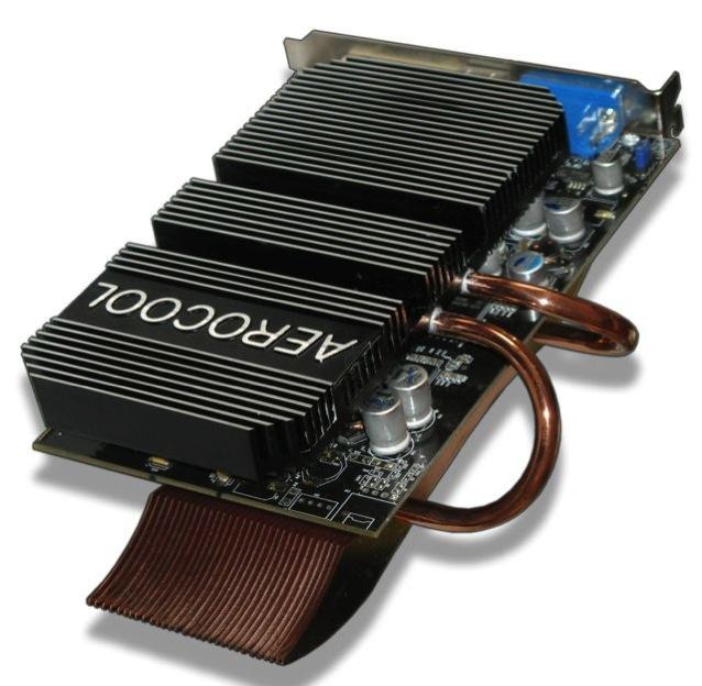 Radeon 9600XT Heatpipe passive cooling
