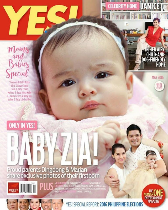Baby Zia on Yes May 2016