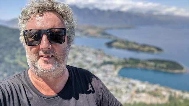 Me on Bob's Peak overlooking Queenstown