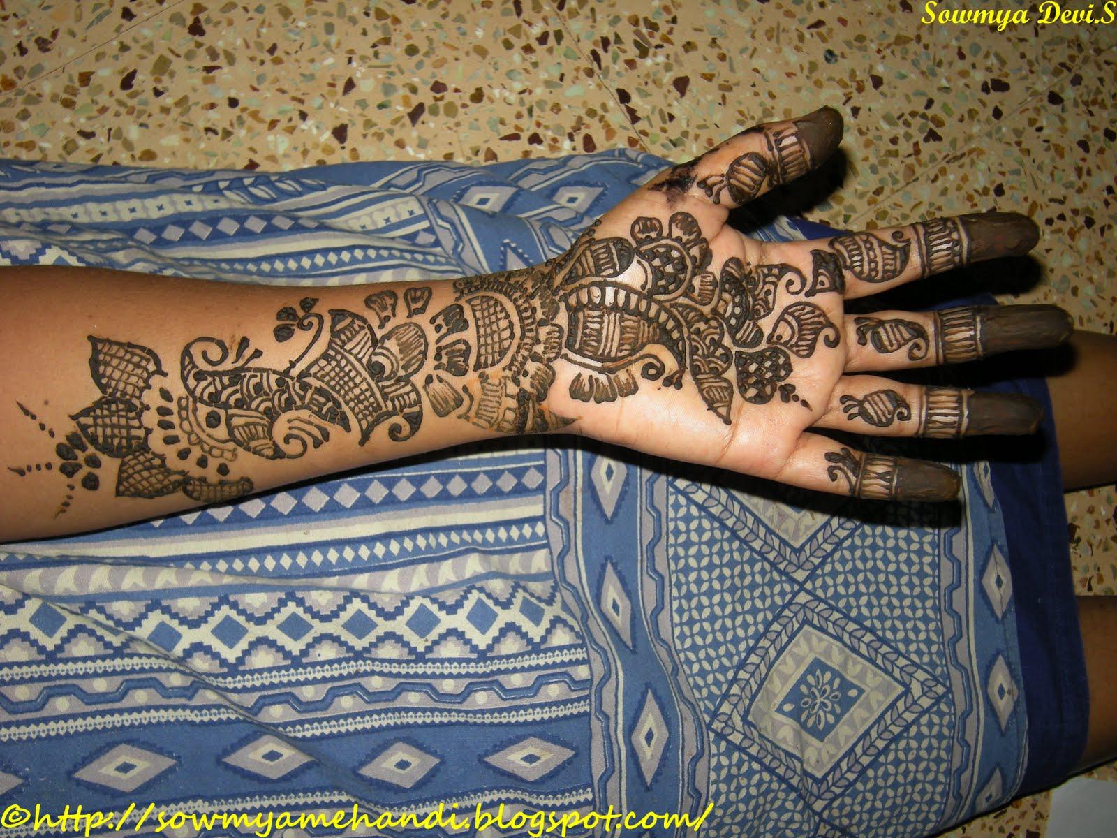 SOWMYA39S MEHNDI Arabic Henna Designs