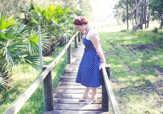 Beach holiday 1950s vintage look | Lavender & Twill