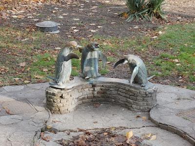 Eine Stage des Multis Singing Pinguins(GC22JPH)