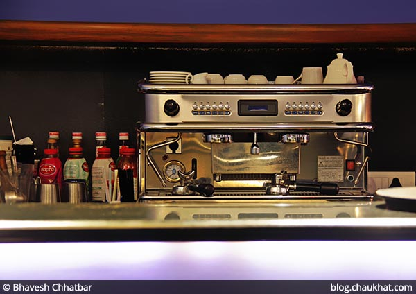 Coffee Machine at Dezio, Kalyani Nagar, Pune