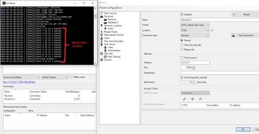 FR24feed (z dump1090) + Virtual Radar - Konfiguracja