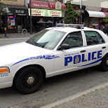 Vancouver Police vehicles in Vancouver, British Columbia, Canada