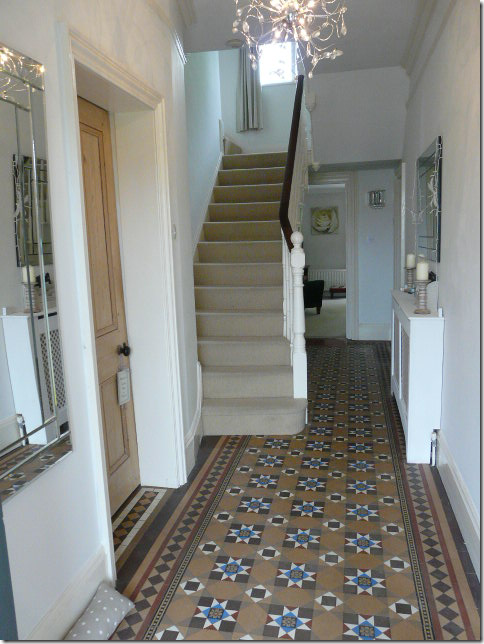 Cote de texas cement tiles dos don 39 ts for Tiled hallway floor ideas