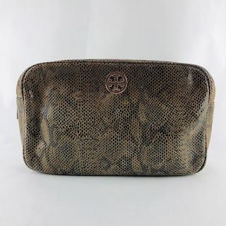 *SALE* Tory Burch Embossed Cosmetic Bag