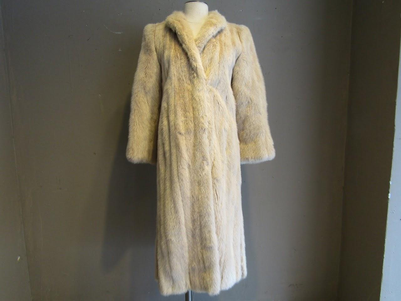 Balencia Furs Mink Coat