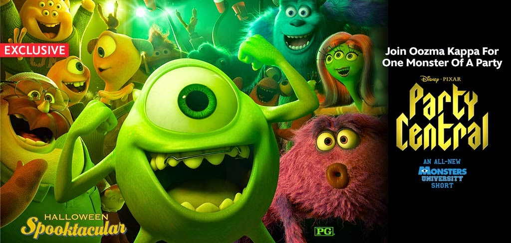"New Disney shorts: Monsters University short ""Party Central"" available on Disney Movies Anywhere"