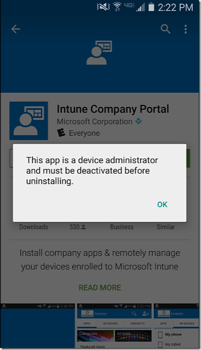 Microsoft Intune and Device Registration Error ~ Santhosh