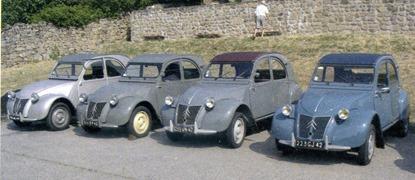 Citroën 1959 4 2 CV au catalogue