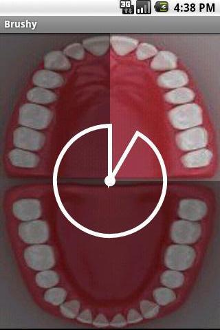Brushy - Teeth brushing timer screenshot 1