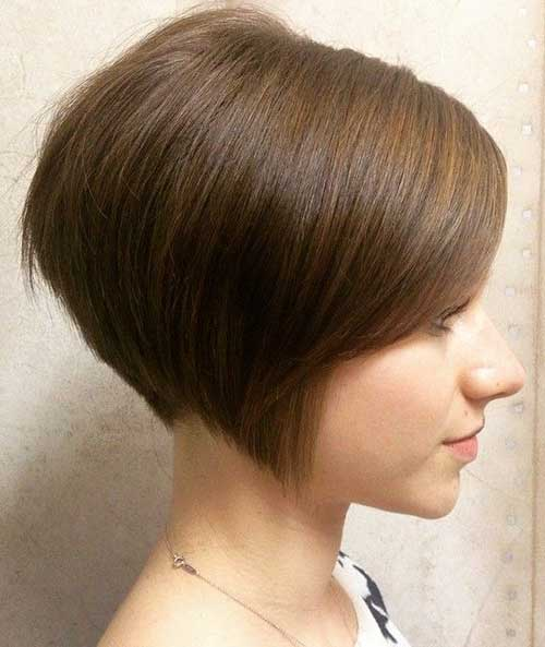 Short Spiky Straight Pixie Bangs Hairstyle Fashion Qe