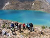 Humantay Glacier Lake