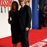 OIC - ENTSIMAGES.COM - Heather and Christopher McQuarrie at the  Mission Impossible - Rogue Nation  Exclusive Screening in London 25th July 2015 Photo Mobis Photos/OIC 0203 174 1069