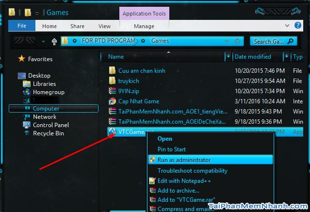 hình 1 cài đặt vtc game launcher