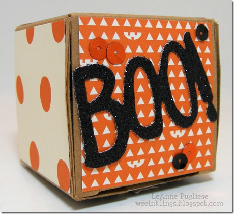 LeAnne Pugliese WeeInklings Surprise Halloween Boo Box Top