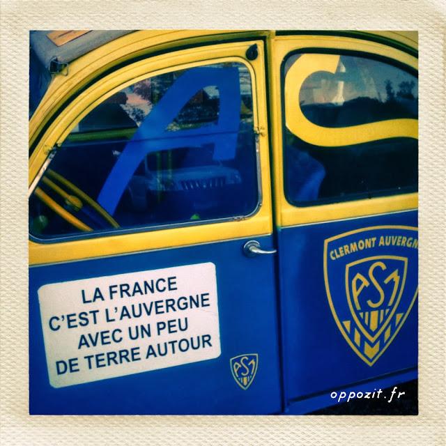 La France c'est l'Auvergne avec un peu de terre autour