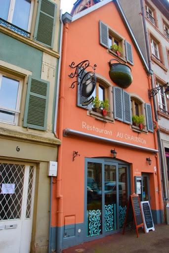 Vibrant coloured Cauldron Restaurant-coffee house