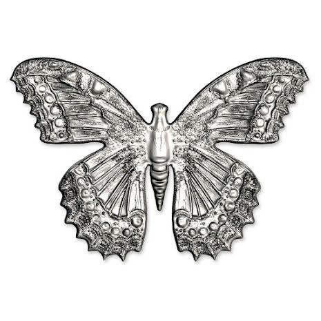 Tim Holtz Sizzix 3D Impresslits Embossing Folder - Butterfly