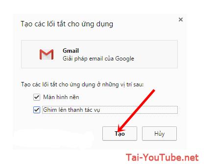 Hướng dẫn tạo ứng dụng Gmail cho máy tính PC, Laptop + Hình 3