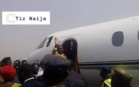 Dunamis' Pastor Paul Enenche takes delivery of a Brand New Private Jet