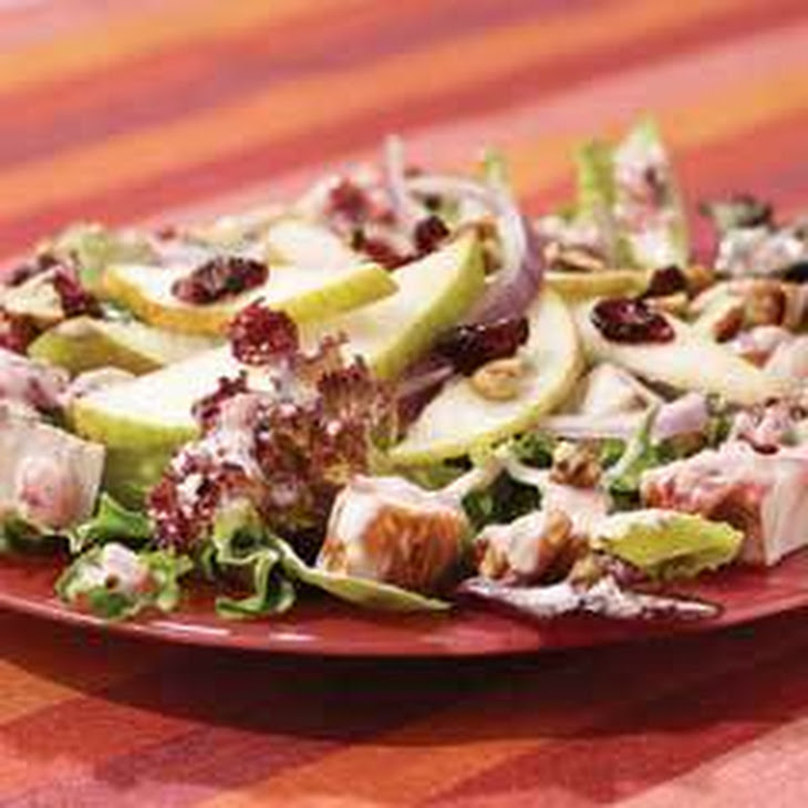 Blushing Cranberry & Pear Turkey Salad