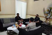 Silaturahmi, Kapolresta Terima Kunjungan Ketum GMKI Cabang Mataram