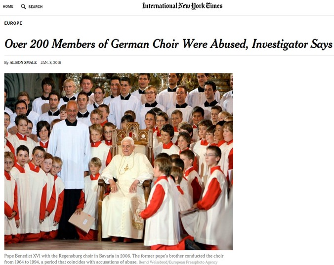german choir abuse