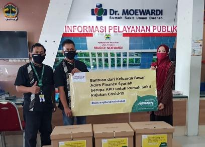 Adira Finance Syariah Donasikan APD Ke Nakes Sejumlah Rumah Sakit