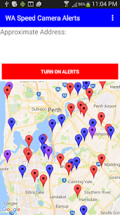 WA Speed Camera Alerts- screenshot thumbnail