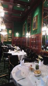 Hotel Sacher Dining Room 2