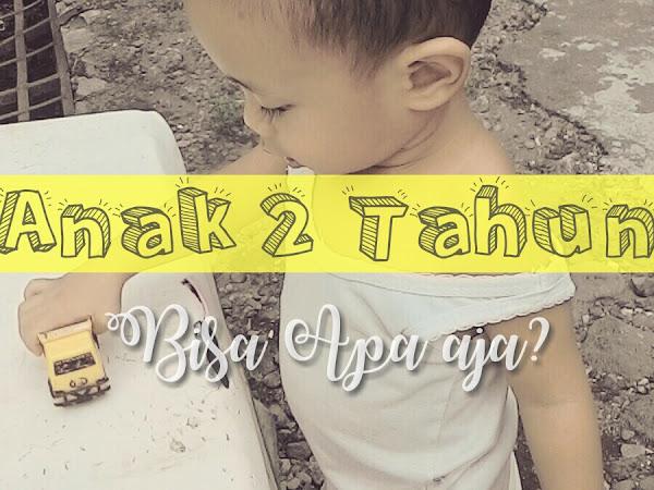 Anak 2 Tahun, Bisa Apa Aja?