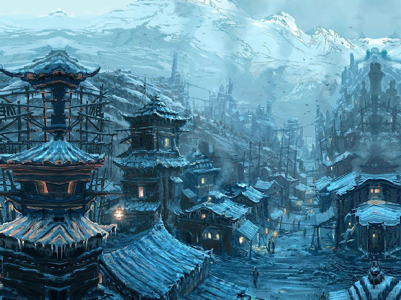 Nightmare Of Lands 21, Magical Landscapes 4