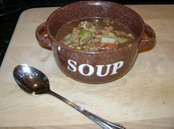 Heartwarming Vegetable Beef Soup Recipe