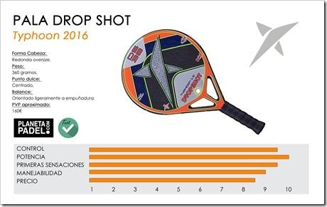 Análisis Drop Shot Typhoon 1.0 2016: excelentes sensaciones con un sólo agujero.