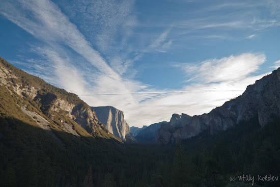 Yosemite Valley, Tunnel View