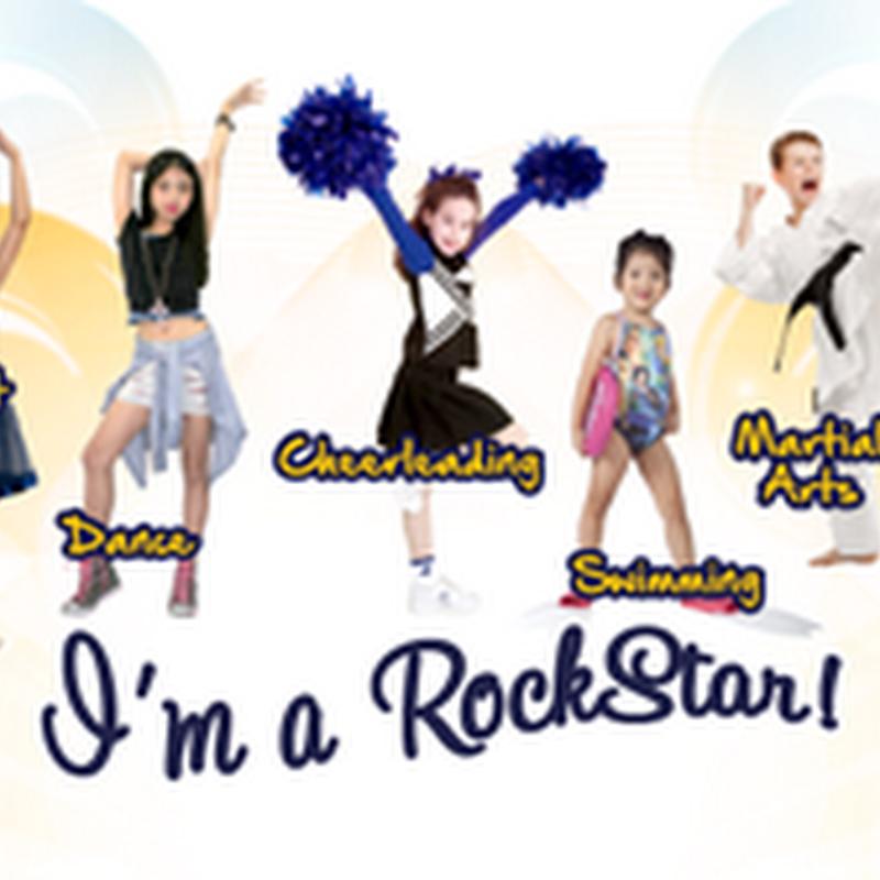 Asah bakat anak kecil kita di RockStar Gym !