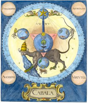 The Alchemical Beast From Michelspacher Cabala, Emblems Related To Alchemy