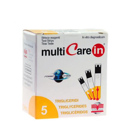 Mätstickor för Triglyceridmätning till Multicare IN 5st