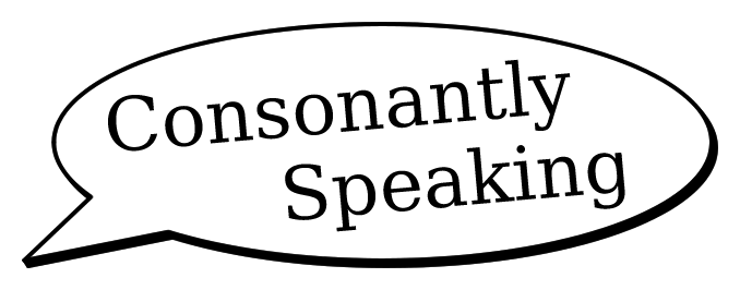 Welcome to Consonantly Speaking! image