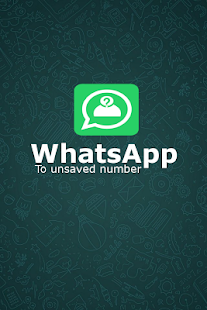 WhatsApp to unsaved number - náhled